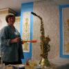 Роспись квартир- это не только роспись стен и потолков, но и роспись кухни. Обои с орнаментом под современным названием «фреска» не заменяет орнамент на стене ручной работы ( единственно ваш).