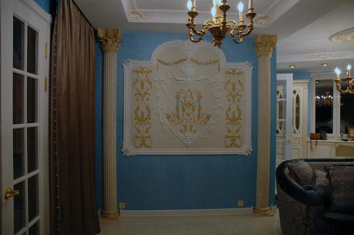 . Если вы амбициозны, то Вам необходима монограмма или вензель, который станет отличным орнаментальным украшением стен