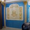 . Рисунки на стенах или орнамент на стене в виде вензеля достойны старых русских традиций и фамилий.