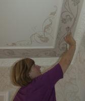 Если роспись стен необходима, значит роспись потолков подразумевается
