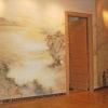 Роспись стен в квартире.. Мотивом послужили китайские гравюры. Роспись в восточном стиле.