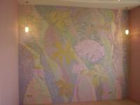 Художественный декор стен и объем рисунка будут уместны в любом стиле интерьера.