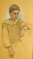 Портреты карандашом не менее выразительны, чем портрет маслом. Портреты карандашом являются недорогим оригинальным подарком по случаю особенного события в жизни. «Портрет Антошки» сепия, сангина