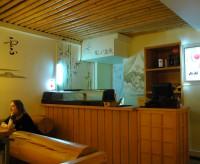 Роспись кафе должна подчиняться тематике заведения.