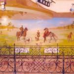 Роспись стен ресторана на тему: «Русская охота»