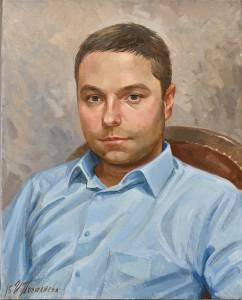 Заказной портрет, созданный с нескольких фотографий
