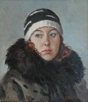Портрет с натуры. холст/масло