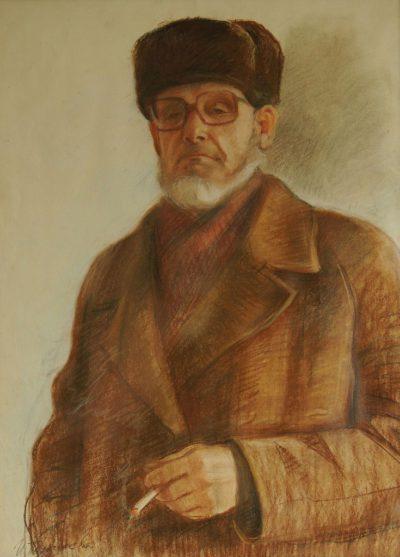 Портрет пастелью,портрет карандашом