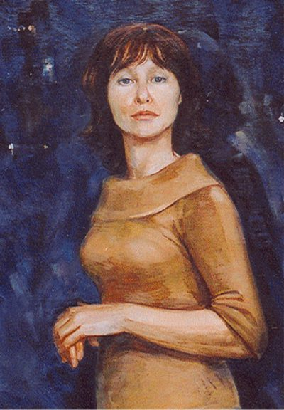 Портрет масляными красками с натуры