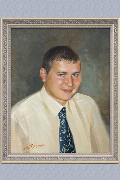 «Заказной портрет» холст/масло.