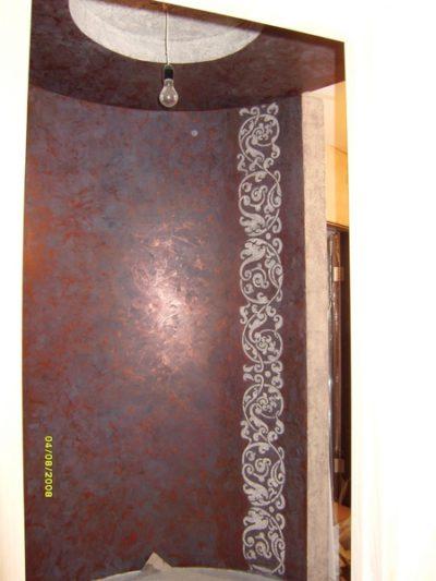 Венецианская штукатурка и фактурный орнамент