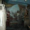 Роспись стен, передающая перспективу улиц старой Москвы. Бывший ресторан « Сударь»