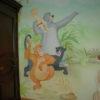 Роспись детской на тему мультфильма « Маугли»