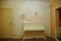 В детской комнате можно изобразить портрет на стене вашего ребенка