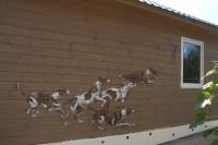 роспись деревянного дома