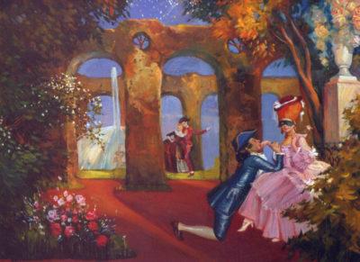 Картины на заказ выполняются с некоторой интерпретацией, т.е. свободно, но при этом точно передают манеру и стиль художника.