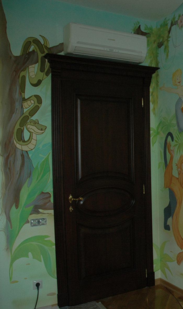 роспись детской комнаты для мальчика