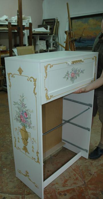 Прованс роспись мебель