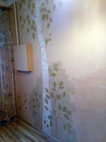 роспись кухни в русском стиле