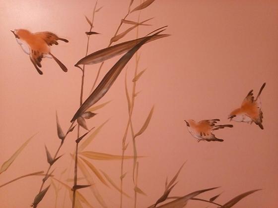 японский стиль в росписи