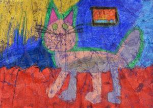 Детский рисунок. Галина Лезжова 7 лет