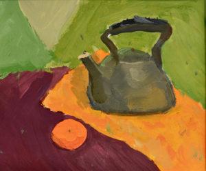 уроки рисования в Ногинске, Лунина Ксения 9 лет