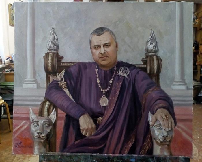 Портрет маслом по фотографии на заказ