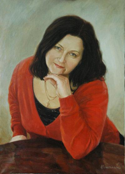 Заказать портрет маслом на холсте по фотографии